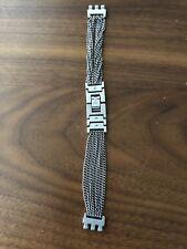 Original Swatch 11mm St. Steel Chain Watch Band Strap Stainless Steel Adj.Strap