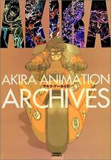 Akira Animation Archives Original Japan Version Anime Art Book Used Rare