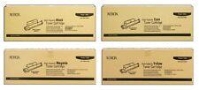 4 XEROX Toner Phaser 6360DN / 106R01221 106R01220 106R01219 106R01218 Cartridges