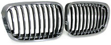2  GRILLE CALANDRE CHROME BMW E46 SERIE 3 E46 BERLINE touring phase 1 320d 330d