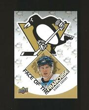 2009-10 SIDNEY CROSBY FACE OF THE FRANCHISE INSERT # FF-1