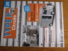 $$$ Fascicule Type H Citroen N°20 Type HZ-IN ambulance militaireMonte-Carlo