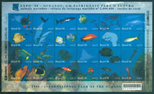 BRAZIL 1998 EXPO 98  - YEAR of OCEAN - Whale, Dolphin BLOCK M/S Sc# 2674 mint