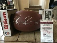 Keenan Reynolds Autographed/Signed Football JSA COA Navy Midshipmen