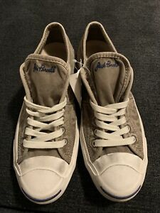 Converse Jack Purcell Washed Khaki Sneakers Men's Size 9.5 132743C