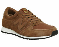 Mens New Balance U420 TOBACCO GOLD Trainers Shoes