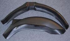 Universal plastic fender set Dual Sport MX Enduro StilMotor SXP A203 A223 BLACK
