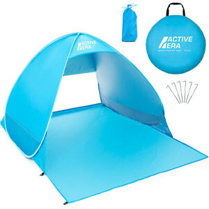 Active Era® Pop Up Beach Tent - Rated UPF 50+ for Sun Protection with Carry Bag