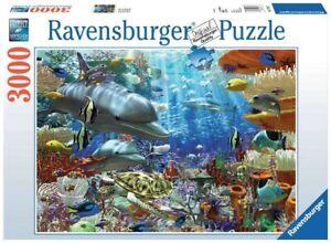 Ravensburger 17027 - Leben unter Wasser - 3000 Teile Puzzle