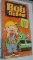 Nick Jr., Bob the Builder Bonus Video, Egg & Spoon Race, Bob & the Goolie VHS A+
