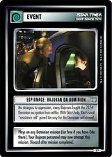 Star Trek CCG All Good Things Espionage: Bajoran On Dominion 2P