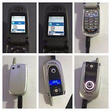 CELLULARE MOTOROLA V600 GSM ACCIAIO PIEGHEVOLE UNLOCKED SIM FREE DEBLOQUE v620