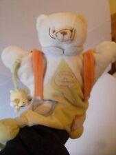 Doudou et compagnie Paris Bear & souris Couette Jouet Doux Couverture/marionnette à main
