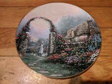 Thomas Kinkade's Collector Plates - Plate No. 1085A of Hometown Hospitality