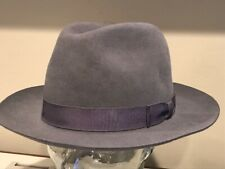 "$340 Bailey Of Hollywood "" Draper III "" Superior Fur Felt Hat Fedora  AWESOME ~"