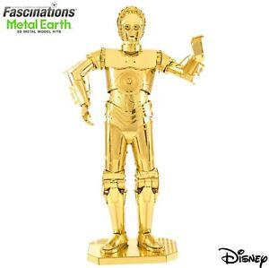 Metal Earth Star Wars C-3PO Droid 3D LaserCut DIY Model Hobby Build Building Kit
