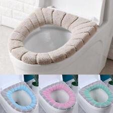 Toilet Seat & Cover Bathroom Mat Washable Warm Winter Closestool Mat Toilet Mat