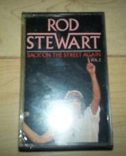 Rod Stewart Back on The Street Again Vol II Cassette SEALED