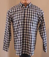 NEW Field & Stream Men's Black/White Button-Front Shirt size L $55.00