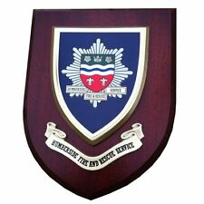 Humberside Fire and Rescue Service Wall Plaque