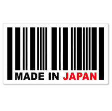 "Made in Japan UPC Styling JDM Vinyl Car Phone Sticker Small 3"" x 2"""