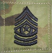 US Army MultiCam Rank E-9 Command Sergeant Major Rank