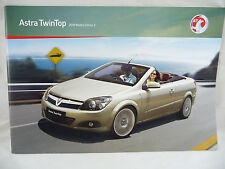 Vauxhall - Astra Twintop Twin Top Convertible - A5 Brochure 2009 New/Old Stock