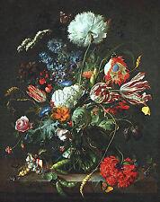 HEEM Jan Davidsz de Vase Of Flowers artista quadro dipinto olio su tela a mano