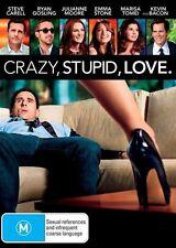 CRAZY, STUPID, LOVE- 2011 - R4 LIKE NEW DVD STEVE CARELL RYAN GOSLING EMMA STONE