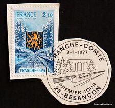 TIMBRE FRANCE OBL. 1° JOUR  Yt 1916 REGION FRANCHE COMTE