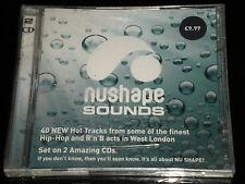 NUSHAPE SOUNDS - 2 CD's Album - 40 Tracks Finest Hip Hop & R 'n' B West London