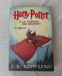 Harry Potter e la camera dei segreti J. K. Rowling 1° ediz. Salani, 20° ristampa