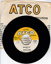 BEN E. KING-ATCO 6284 R&B TYPE SOUL 45RPM GROOVIN'  M- CLEAN LABELS