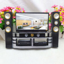 Living Room Furniture For Blythe Barbie Doll House Hi-Fi Tv Cabinet Set Combo