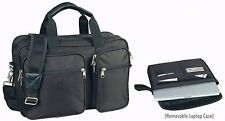 Expandable Laptop Portfolio Organizer Briefcase Bag for Office or School
