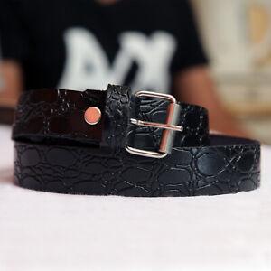 Ladies Leather Belt, Ladies Thin Leather Buckle Belt Waist Belts For Women  -UK