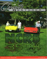 NCRS Judging- The Corvette Restorer Vol:35 Number 3 Winter Hot Rod Magazine book