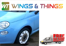 NEW Fiat 500, 952 AZZURRO VOLARE BLUE  Replacement Front Wing Nearside, NSF, L/H