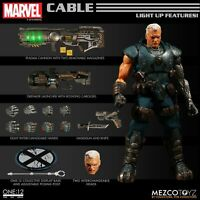 Mezco ONE:12 COLLECTIVE Cable X-Men 6 inch action figure NEW