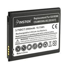 2x 2900mah alta capacidad de iones de litio Soporte De Batería Para Samsung Galaxy S3 Siii I9300