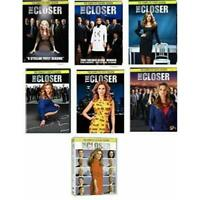 THE CLOSER Complete Series Collection DVD Seasons 1-7 Season 1 2 3 4 5 6 7 New
