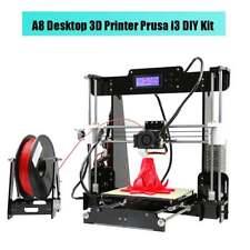 Anet A8 Desktop 3D Printer Prusa i3 DIY Kit SD Card LCD MK3 Heatbed Stampante 3D