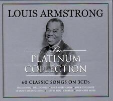 LOUIS ARMSTRONG - THE PLATINUM COLLECTION - 60 CLASSIC SONGS (NEW SEALED 3CD)