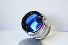 VERY RARE 1961 SILVER JUPITER-3 1,5/50mm Soviet lens M39 mount EXC