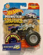2020 Hot Wheels Monster Trucks BIGFOOT 45TH ANNIVERSARY Retro FORD 4x4 Truck