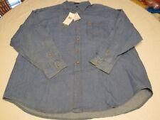 Rugger by Gant Ivy League denim XL long sleeve button up shirt NEW CN25M6 RARE @