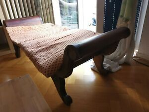 Chaiselongues Liege Sofa Sessel aus Holz asiatische Stil gebraucht guter Zustand