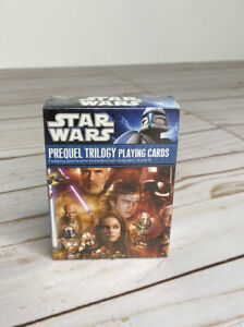 STAR WARS Prequel Trilogy 2010 Playing Card Includes 52 Cards & 3 Jokers NEW
