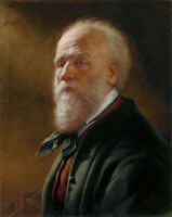 """high quality oil painting handpainted on canvas """"an old man """""""