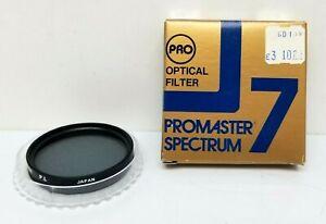 PROMASTER SPECTRUM 7 49mm pl POLARIZING LENS Filter #4059 NIB